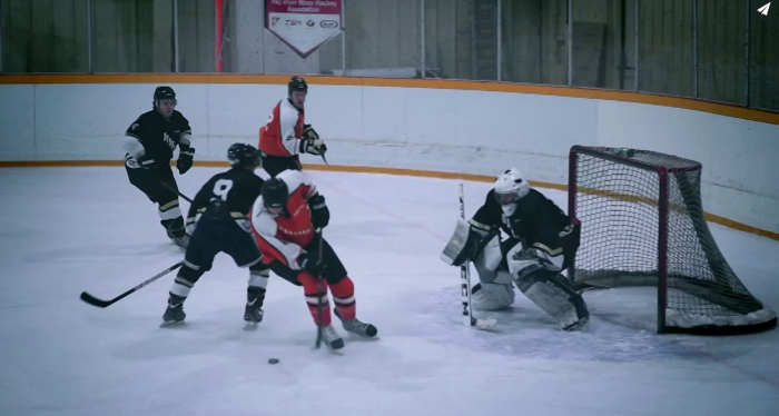 Hay River Huskies took on the Yellowknife Flyers